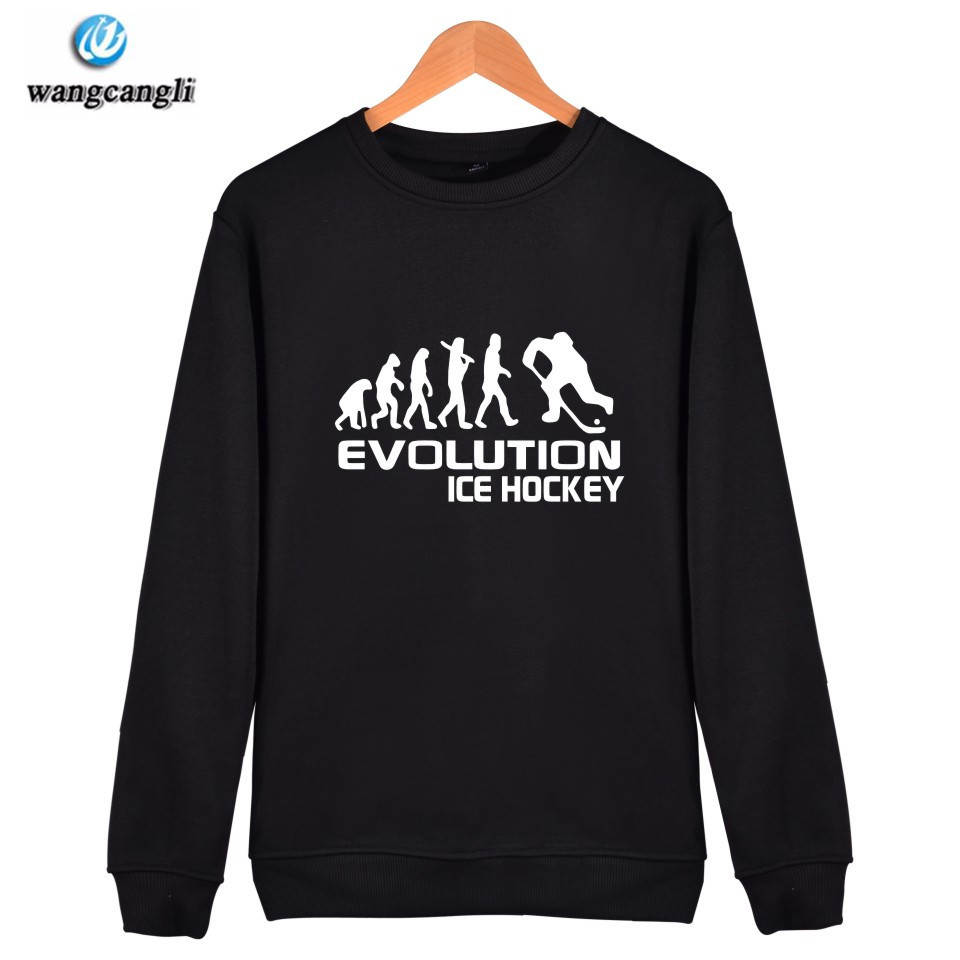 Evolution Of Ice Hockeyer Hoodie Sweatshirt Men/women Streetwear Hoodies Sweatshirts Hip Hop Spring Autumn Tracksuit Clothes 4xl