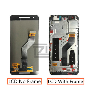 Image 2 - Оригинальный ЖК дисплей для Huawei Google Nexus 6P, дигитайзер сенсорного экрана в сборе с рамкой, сменный экран 6P, запчасти для ремонта