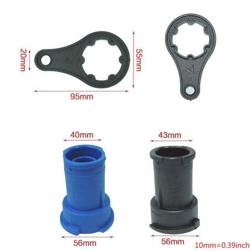 18 pièces testeur de pression de radiateur universel et détecteur de fuite de réservoir d'eau Kit de système de refroidissement de voiture kit testeur de pression de liquide de refroidissement voiture Di - 5