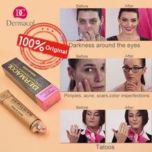 Dermacol Makeup Cover Authentic 100% 30g Primer Concealer Base Professional Face Dermacol Makeup Foundation Contour Palette 2019