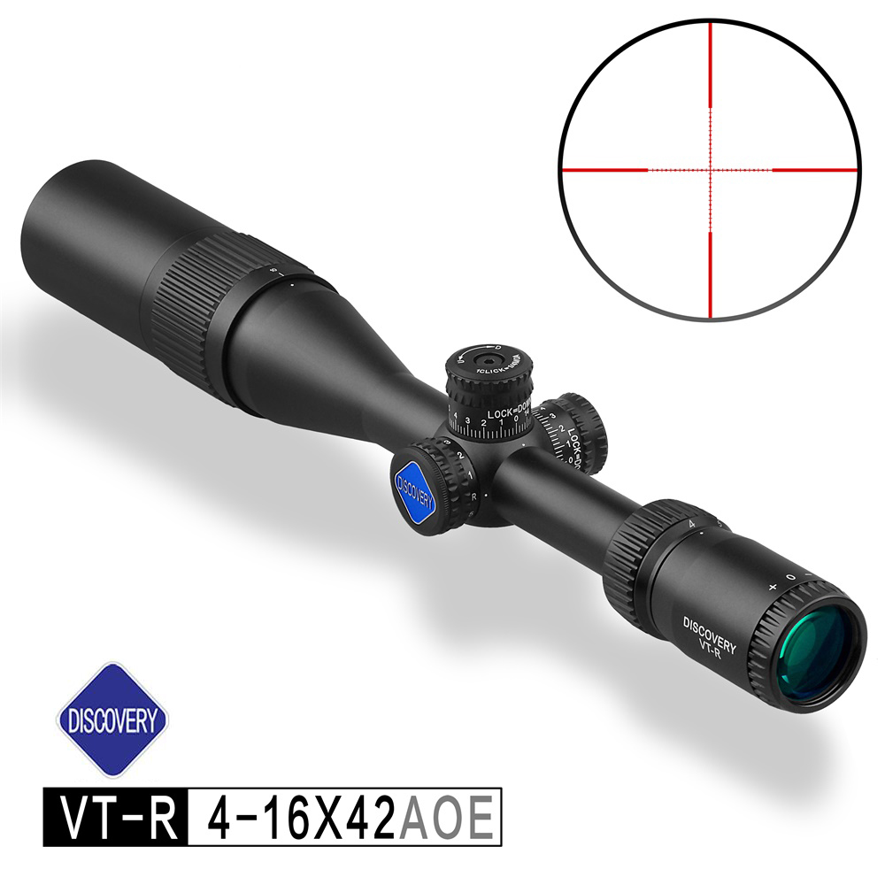 New Arrive Hot Sale Discovery VT-R 4-16X42AOE Optic Sight Outdoor Hunting Taveling Scopes Riflescopes Airsoft Gun Accessory