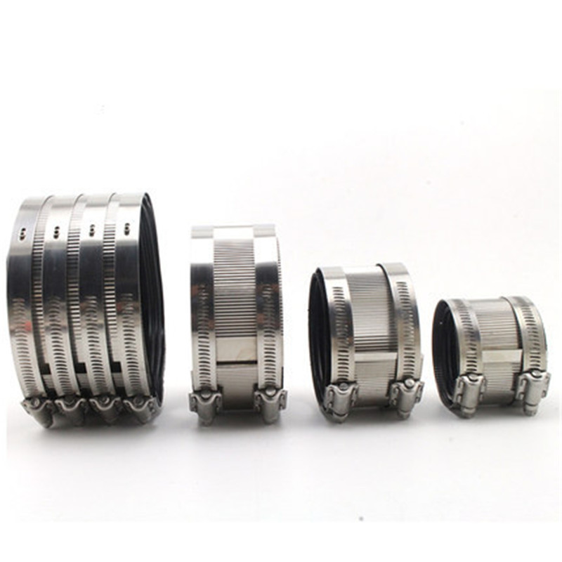 2 inch 3 inch 4 inch 5 inch 201 stainless steel tube bundle strong hose clamp for drainage