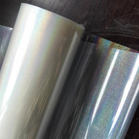 Hot Stamping Foil Transparent Sand Y25 Holographic Foil For Paper Or Plastic 64cm X120m