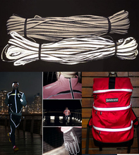 Hot sale high intensity reflective piping for clothing, bags,shoes
