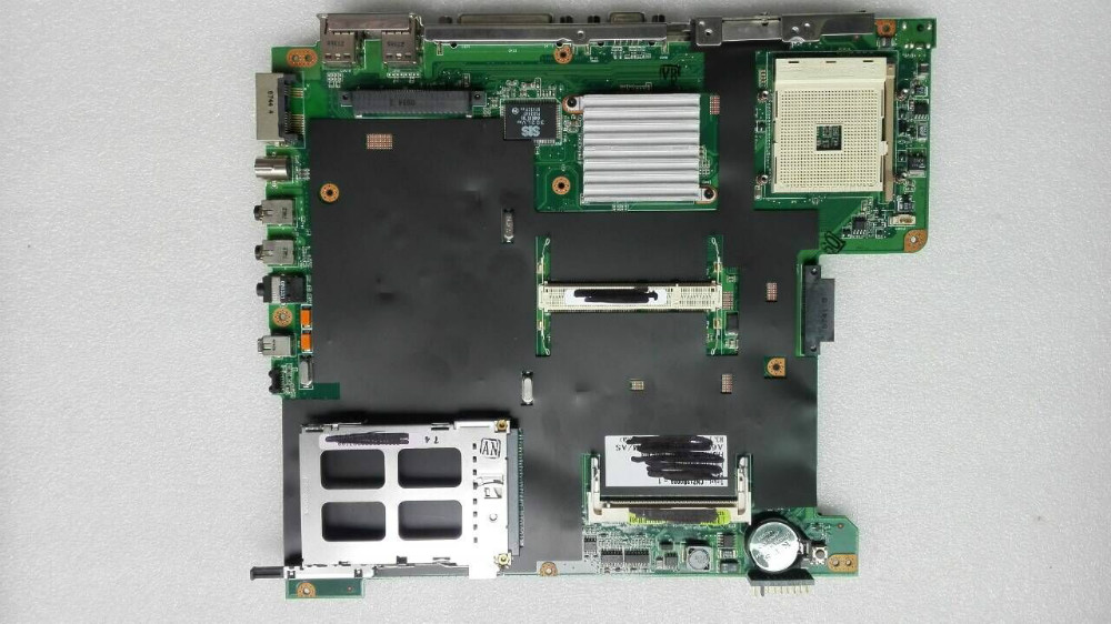 Original laptop motherboard mainboard for asus A6U REV:3.1 fully tested and work well for asus a8f laptop motherboard fully tested