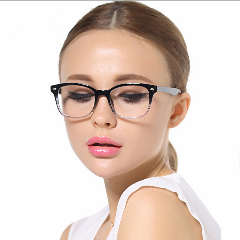 glasses fashion 2015  2015 fashion lens glass frames optical eyeglasses frames brief ...