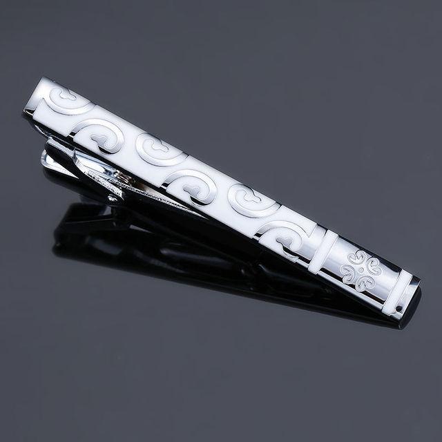 High-quality enamel men's tie clip