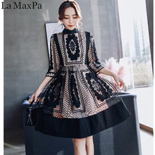 07825f17f9 La MaxPa 2018 Women New Spring Summer Arrived Elegant Vestidos Bodycon  Vintage Party Lace Hollow Out