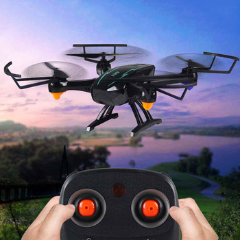 Mini Quadcopter Headless Drone Remote Control Fixed Height Flying Outdoor Toy Drone
