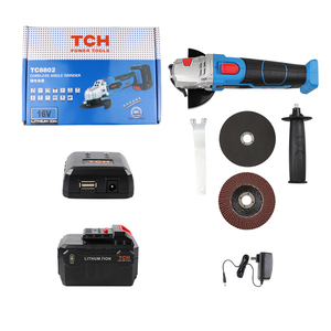 Image 4 - 16V Cordless Brushless Lithium Ion Angle Grinder Grinding Power Tool Cutting and Grinding Machine Polisher 100/115mm Wheel