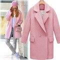 Зима casaco sobretudo feminino осень женщин черное пальто abrigos mujer пончо feminino inverno 2016 манто женский пальто