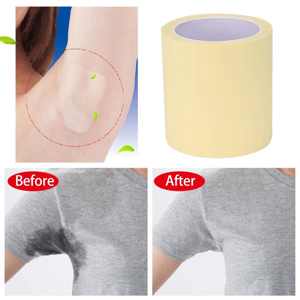 Transparent Disposable Underarm Armpit Antiperspirant Sticker Armpit Prevent Sweat Pads Easy Use Deodorants Keep Dry Tool TSLM2