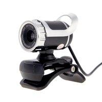 ETCS Hot USB 2.0 12 Megapixel HD Camera Web Cam 360 Degree with MIC Clip on for Desktop Skype Computer PC Laptop