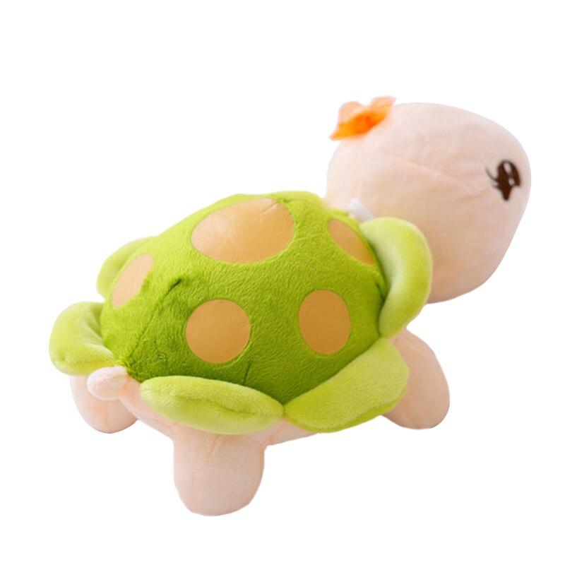 1pc 23cm Cute Tortoise Plush Toy Staffed Cartoon Colorful Turtle Plush Doll Activity Doll Wedding Doll