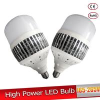 High Power 50W 80W 100W 150W LED Light Bulb E27 E40 220V 230V High Bright Lampada Led Bombillas For Warehouse Engineer Square