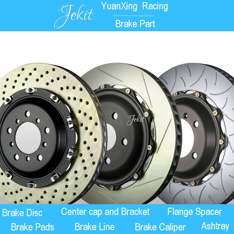 Jekit 330*28mm Brake rotors with center cap for 4x100 for for Ford Ranger T17 model year 2017 for JK9200 with 4 pots brake kit