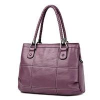 2018 New Fashion Ladies Hand Bag Women S Genuine Leather Handbag Black Leather Tote Bag Bolsas