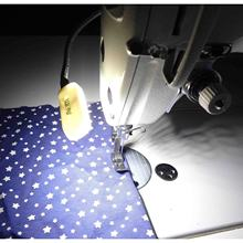 Sewing Machine Led lamp White Light Megnatic Mounting Light 10-led Motor Switch AOM-10A(China)