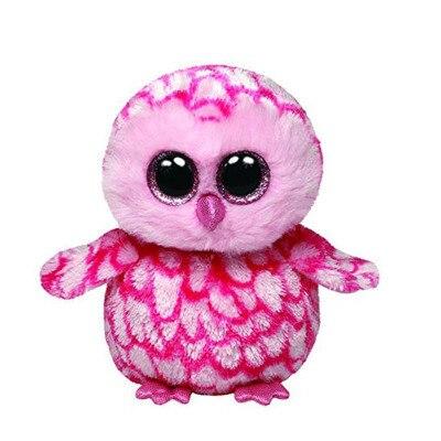 Ty Плюшевых Животных Шапочка Боос Большие Глаза Розовый Сова Праздник Рождественский Подарок Чучела Животных Игрушки Куклы