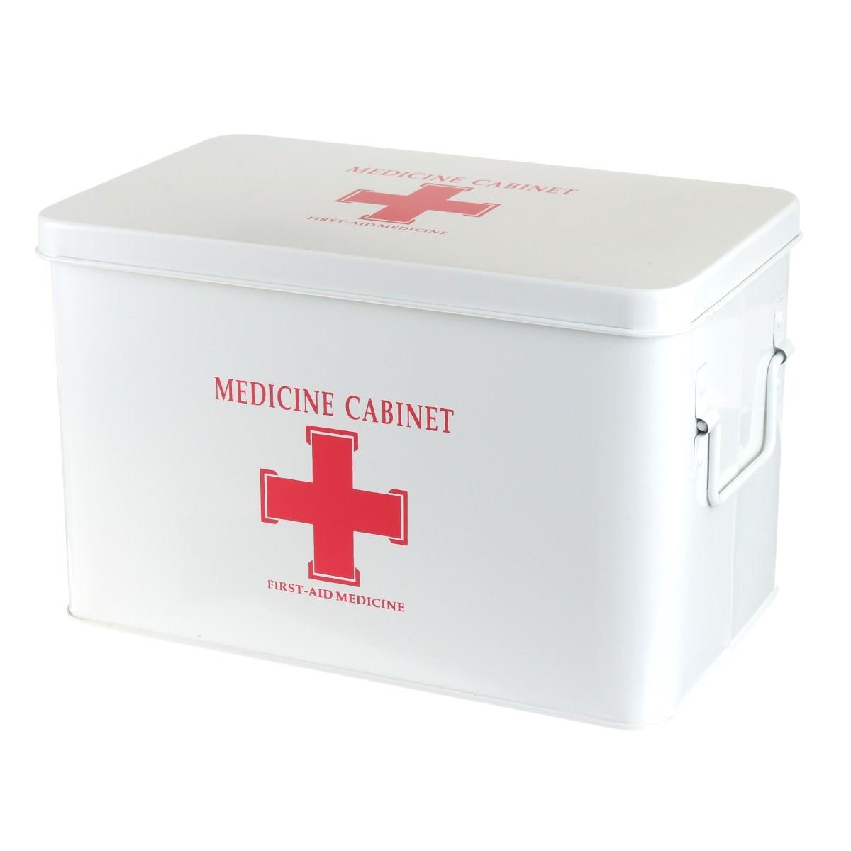 Новый safurance металла аптечке многослойный Семья коробка первой помощи ящик для хранения Спецодежда медицинская сбор Аварийные наборы