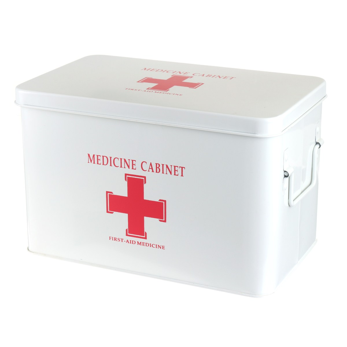 NEW Safurance Metal Medicine Cabinet Multi layered Family Box First Aid Storage Box Storage Medical Gathering Emergency Kits