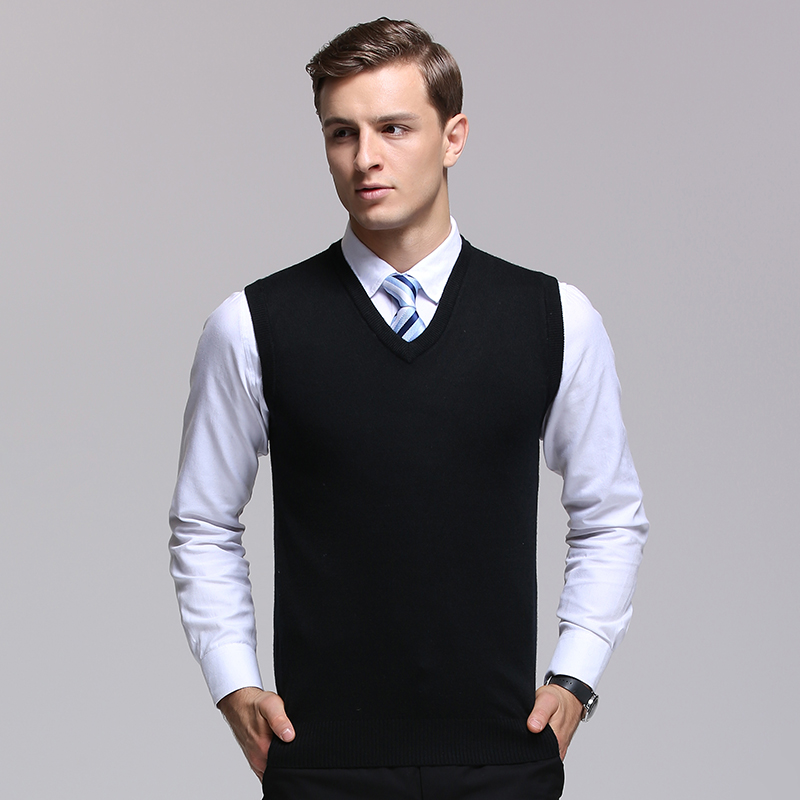 2019 New Fashion Brand Sweater For Mens Pullover Vest Slim Fit Jumpers Knitting Warm Winter Korean Style Casual Clothing Male A Great Variety Of Goods