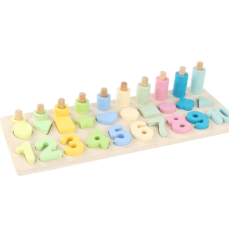 Children Wooden Montessori Toys Montessori Educational ...