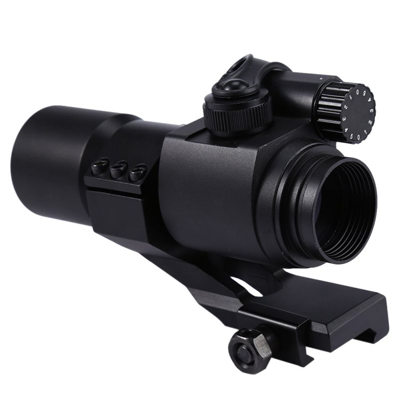 Hot High Quality Professionla 1*1 Green / Red Hunting Rifle Scope Red Laser Holographic Telescope Sight Scope New 2018