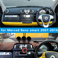 Dashmats carro - styling acessórios painel tampa para Merced - Benz smart Fortwo Cabrio W4541 2007 2008 2010 2011 2012 2013 2014