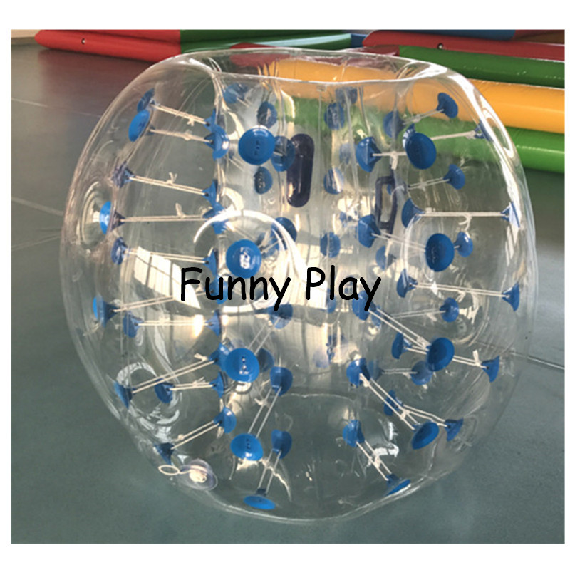 Body Zorbing air bumper sports toy game knocker zorb human hamster ball Sport PVC Air Bubble Children Play Game