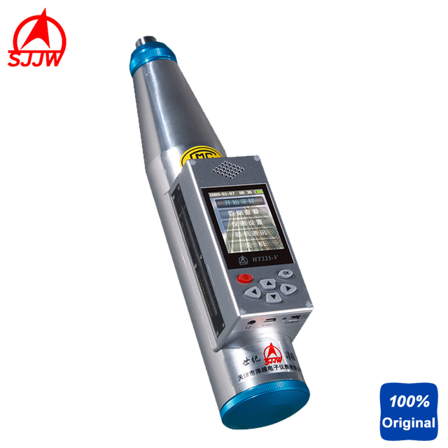 HT225-V Integrated Digital Voice Concrete Test Hammer Rebound Hammer With IR Printer Machine And Automatically Compute