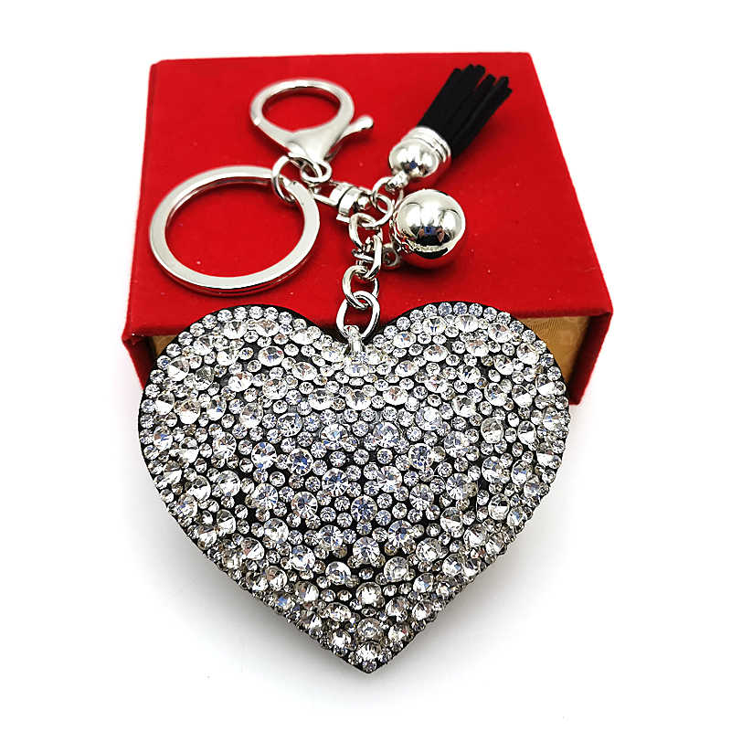 YD & YDBZ новый брелок Аниме для женщин аксессуары для автомобильных ключей милый медведь животное брелок для девочек Подарки ювелирные сумки с брелком
