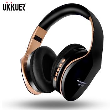 Auriculares estéreo plegables con Bluetooth, auriculares inalámbricos con micrófono para videojuegos, auriculares para PC, teléfono móvil y Mp3