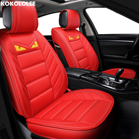 [KOKOLOLEE] auto car seat covers For hyundai i20 i40 alfa romeo giulietta seat ateca bmw e34 toyota car accessories car styling