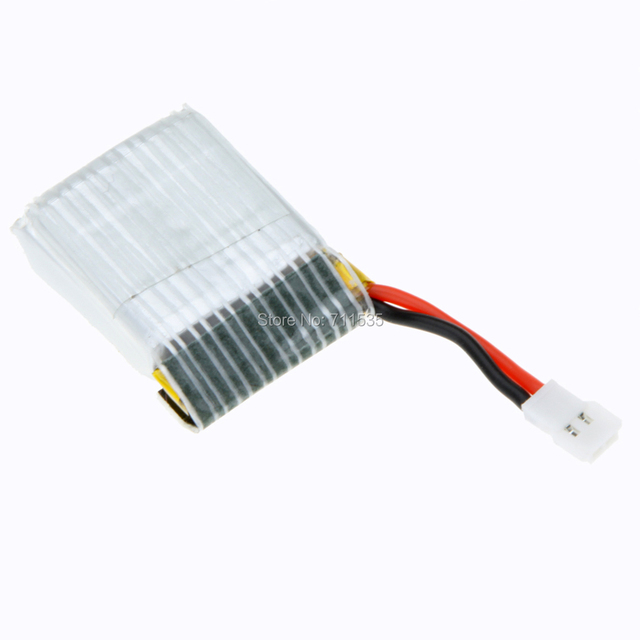 6pcs 3.7V 500mAh 25C Li-Po Battery + 6 In 1 USB Charger Spare Parts For Wltoys V931 F949 XK123 RC Helicopter