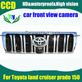 For Toyota land cruiser prado 150 Car front view camera HD CCD night vision waterproof front camera