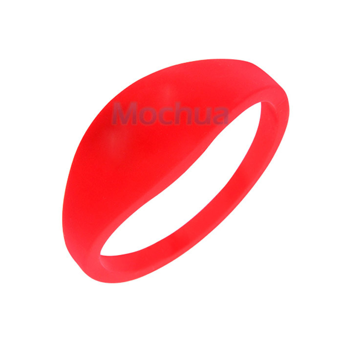 (10pcs/lot) Waterproof Silicone Wristband RFID 125KHz Bracelet Read Only (Compatible With EM4100)
