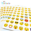 Hanhanho 20 sheets/Pack Emoji Stickers Smily Face Stickers For Notebook Message Classical Kids Toys