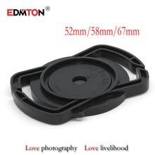 Camera Lens Cap keeper 52mm 58mm 67mm Universal Lens Cap Camera Buckle Lens Cap Holder Keeper Free shipping