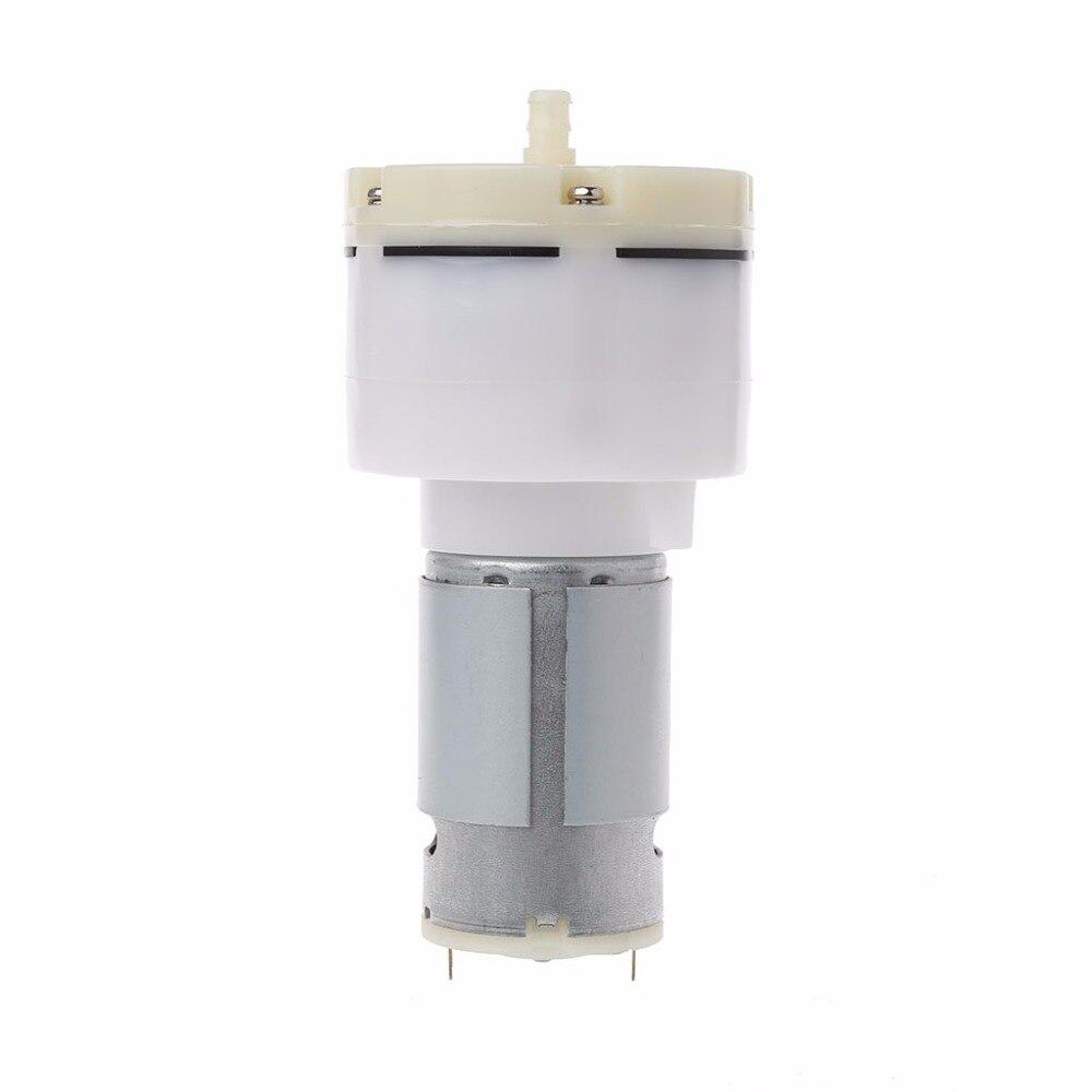 DC 12 V High Pressure Air Pump Diaphragm 13L / Min Displacement Micro Vacuum Pump Vacuum Pumps vacuum pump inlet filters f007 7 rc3 out diameter of 340mm high is 360mm
