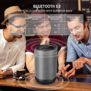 Image 2 - Bluetooth 5.0 אלחוטי רמקול 10w אלחוטי Bluetooth רמקול בס Ipx56 Waterproof built מיקרופון מוסיקה רמקולים עבור טלפון