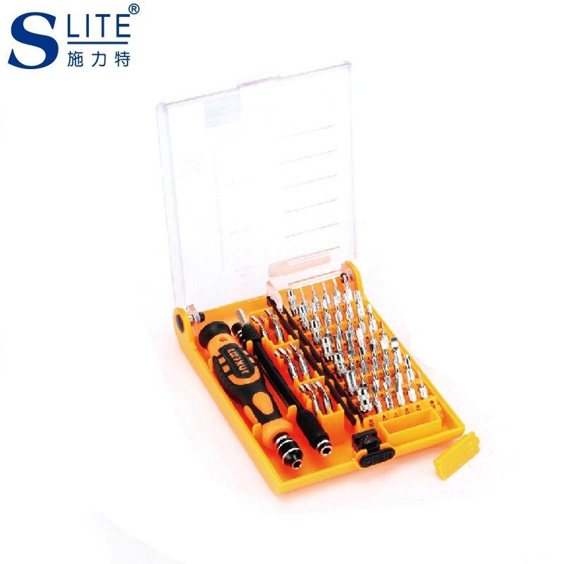 Slite  electronic Bit kit Precision mini screwdriver Repair tools The multifunctional Computadora destornillador