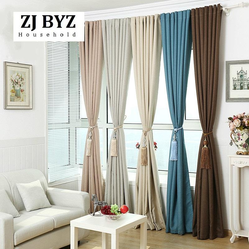 cortinas para el dormitorio moderno minimalista sala de estar dormitorio cortina del apagn de lino de