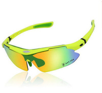 Прохладный езда очки поляризационные 5 шт. близорукость горный велосипед песок открытый спорт зеркало очки