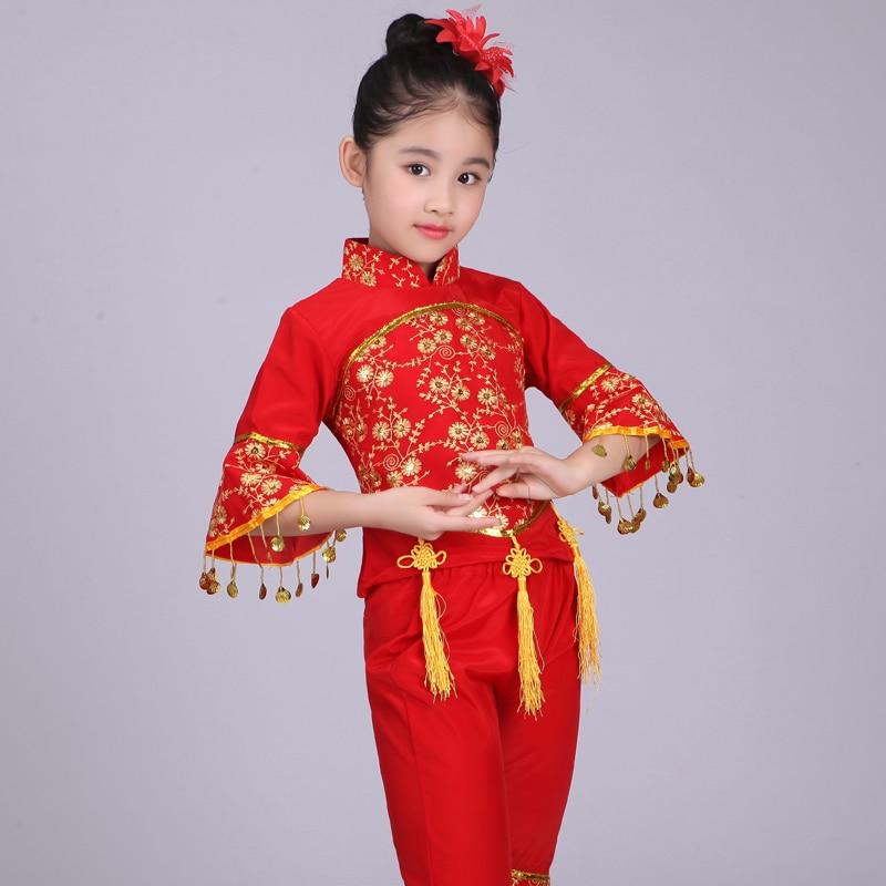 الرقص الشعبي الصيني زي الأطفال هان - منتجات جديدة