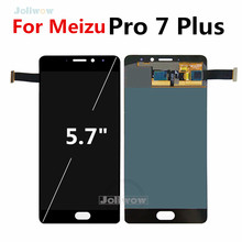 Super AMOLED For Meizu Pro 7 Plus LCD Display with Touch Screen Panel Digitizer Full Assembly  Pro7