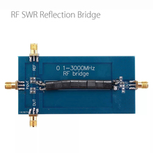 Puente de pérdida de retorno RF SWR, 0,1 3000MHz, Analizador de antena de puente de reflexión VHF VSWR, pérdida de retorno