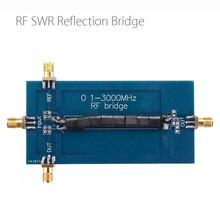 RF SWR Bridge 0.1 3000MHz perdita di ritorno Bridge riflessione ponte Antenna analizzatore VHF VSWR perdita di ritorno
