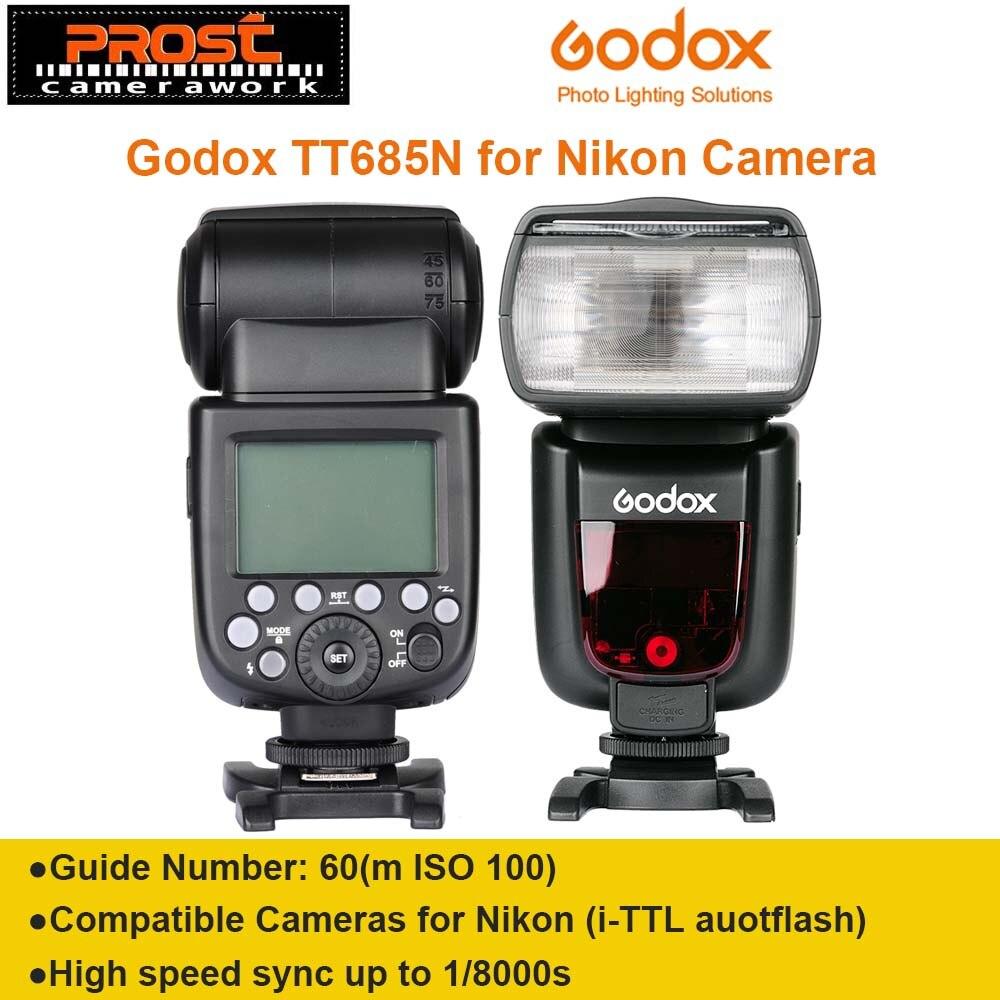 GODOX TT685N i-TTL 2.4G Wireless Radio System Master Slave Flash light Speedlite for Nikon D7100 D7000 D5200 D5100 D5000 D3200