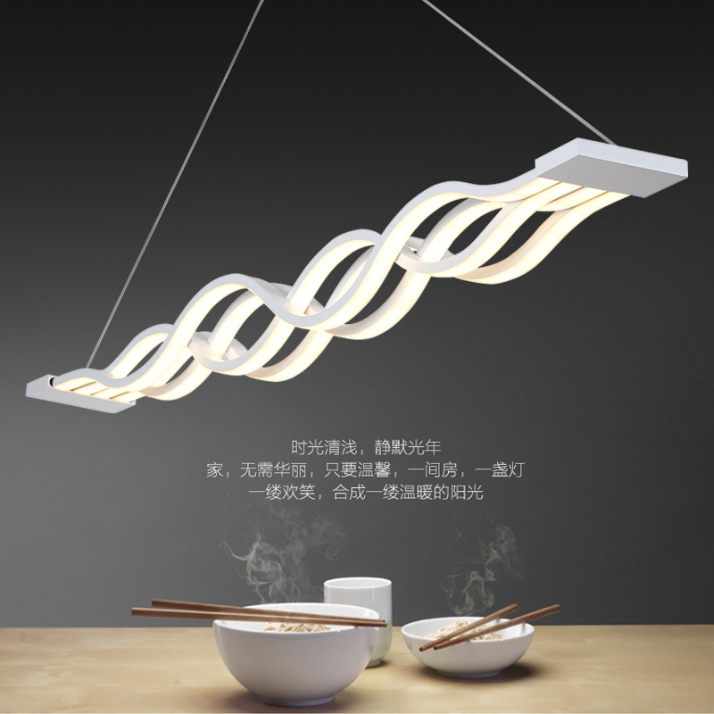 new suspension luminaire led pendant light dining room bar shop modern led pendant lamp led. Black Bedroom Furniture Sets. Home Design Ideas
